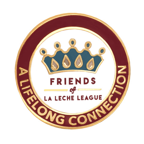 Friends of LLL Pin