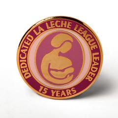 LLL Leader 15 year pin
