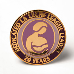 LLL Leader 20 year pin