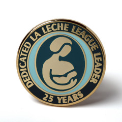 LLL Leader 25 year pin