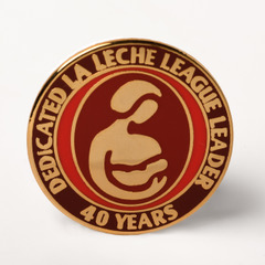 LLL Leader 40 year pin