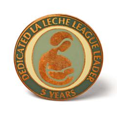 LLL Leader 5 year pin